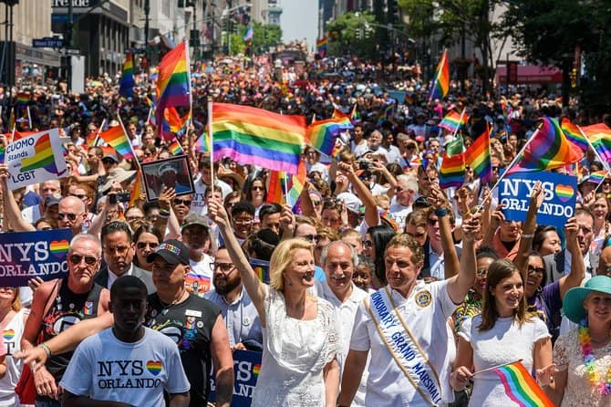 World LGBT Pride Parade NYC bénéfice Brunch & Open Bar!