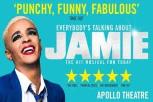 Everybody's Talking About Jamie & 24hr Hop-On Hop-Off Thames River Cruise Pass