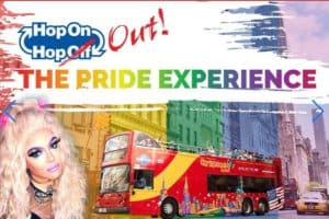 Hop on Hop OUT The Pride Experience Bus Tour