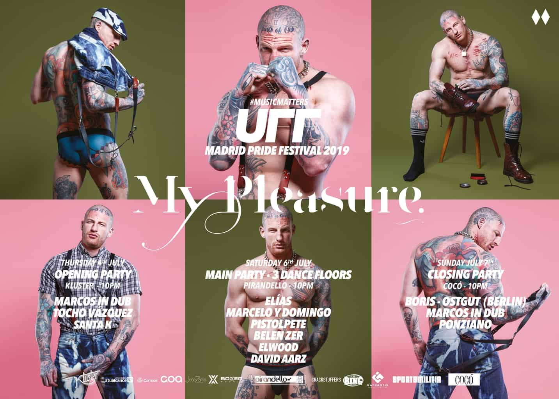 MyPleasure - مهرجان UFF Urban Fetish - مهرجان مدريد للفخر