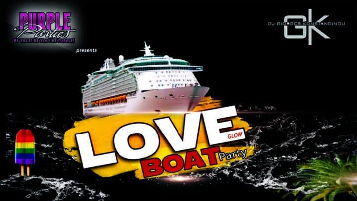 Love Glow Boat Party vol11 by Purple lgbtiq Parties