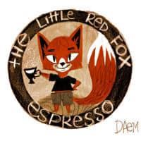El pequeño espresso de zorro rojo