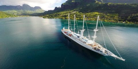 All-Gay Luxury Tahiti Cruise On Board The Wind Spirit