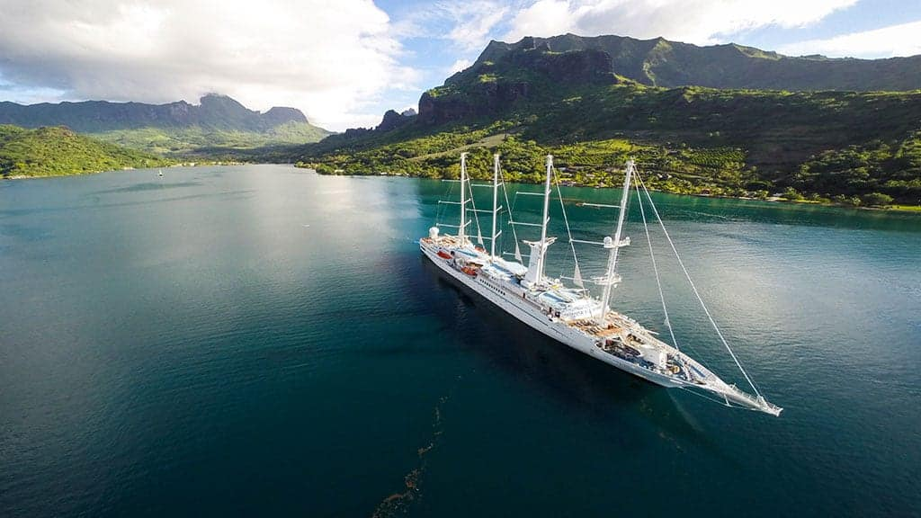 All-Gay Luxury Tahiti Cruise On Board The Wind Spirit