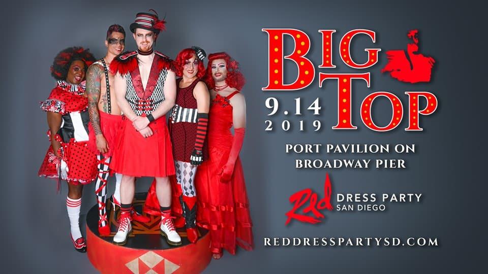 Fiesta Vestido Rojo