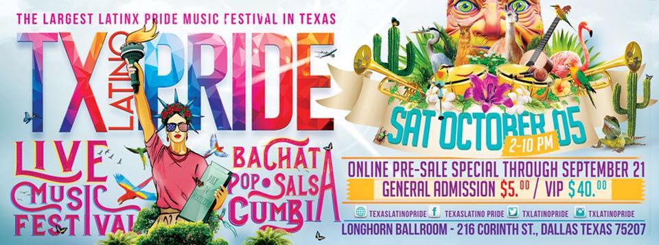 Texas Latino Pride Festival