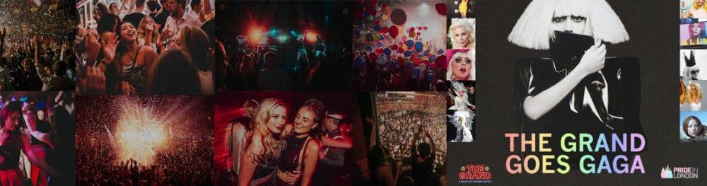 Offizieller Londoner Pride After Party: Der Grand Goes Gaga