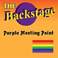 Backstage Purple Meeting Point