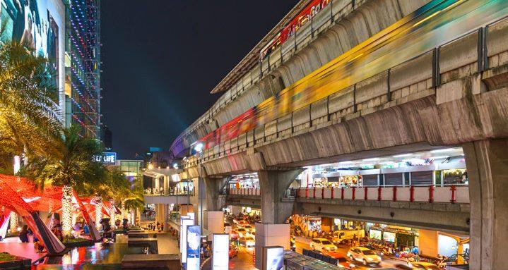 BTS Skytrain-station Bangkok