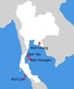 Beach Destinations Thailand