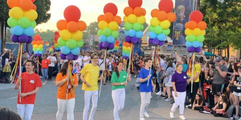 Disneyland Parijs Gay Pride