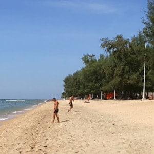 Παραλία Dongtan Gay στο Jomtien