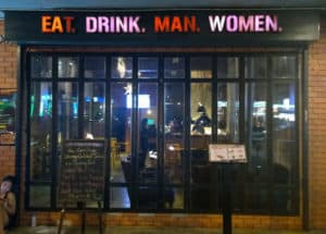 Eat. Drink. Man. Women.