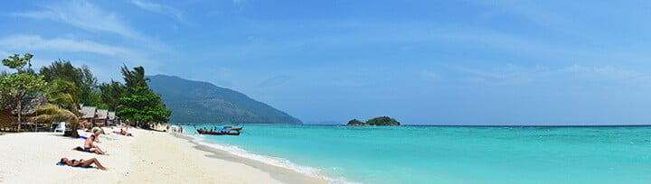 beach at Koh Lipe