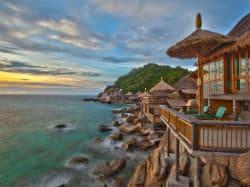 Koh Tao Huttes en Bambou