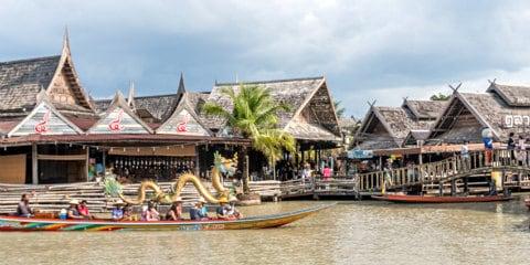 TravelGay anbefaling Pattaya Floating Market
