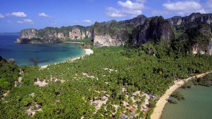 Spiaggia a Krabi Thailandia