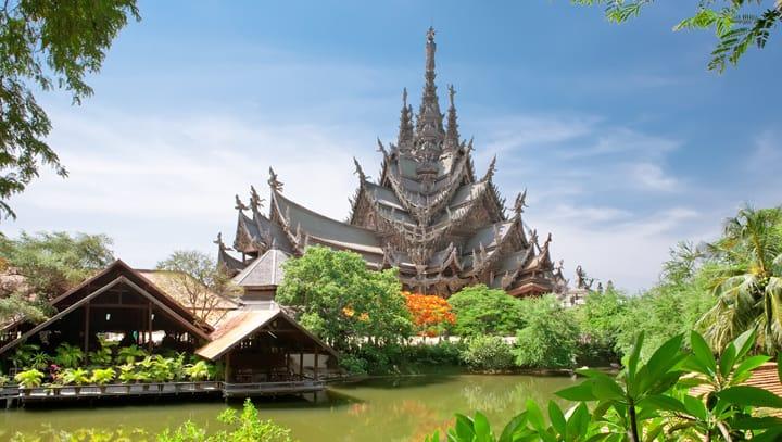 Tempio a Pattaya Thailandia