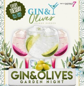 Gin & Olives Garden Bar