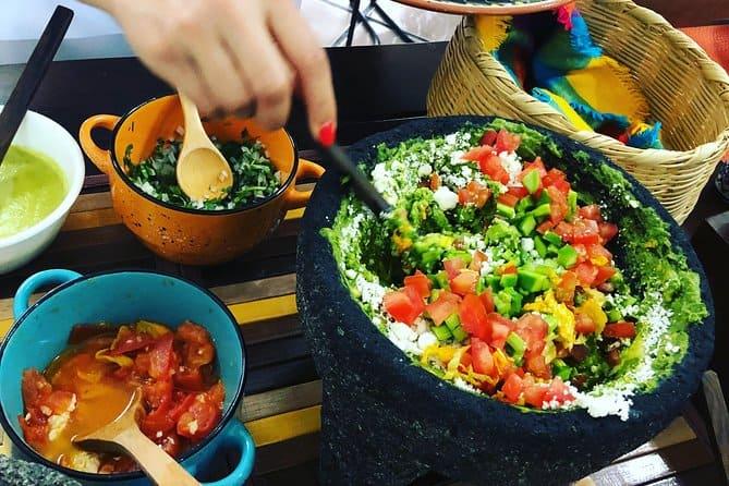 ชั้นเรียนทำอาหาร Puerto Vallarta