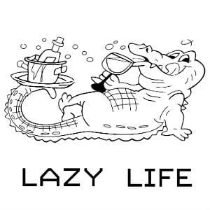 الحياة الكسولة