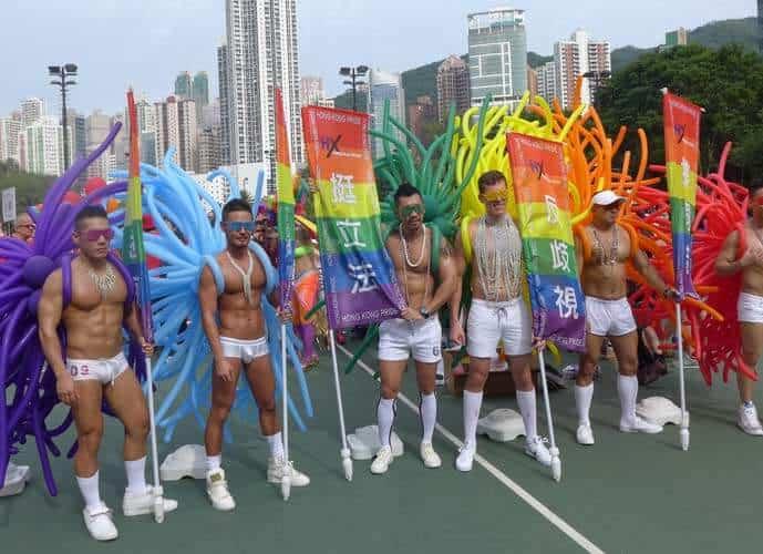 Homoseksuelle fester og begivenheder i Hong Kong