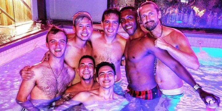Saturday Night Swim: a Gay Pool Party!