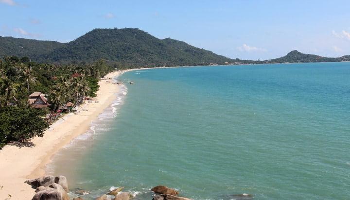 Lamai Beach in Koh Samui