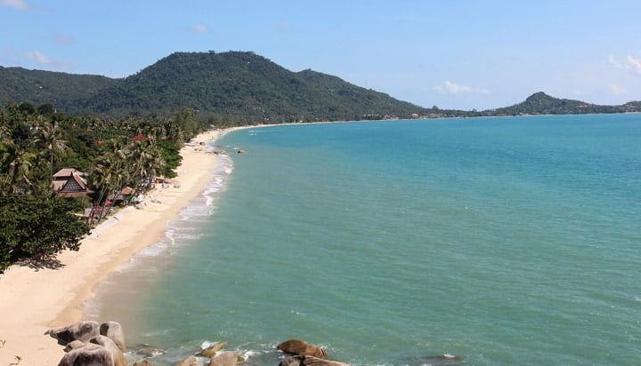 Lamai Beach i Koh Samui