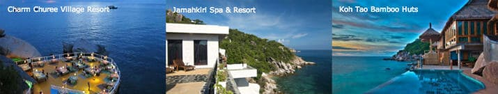 resorts on Koh Tao