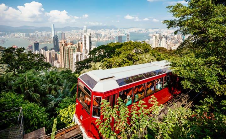 Rejser til The Peak Hong Kong