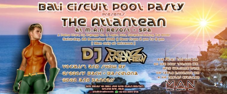 Bali-Stromkreis-Pool-Party