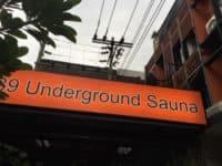 39 Underjordisk sauna