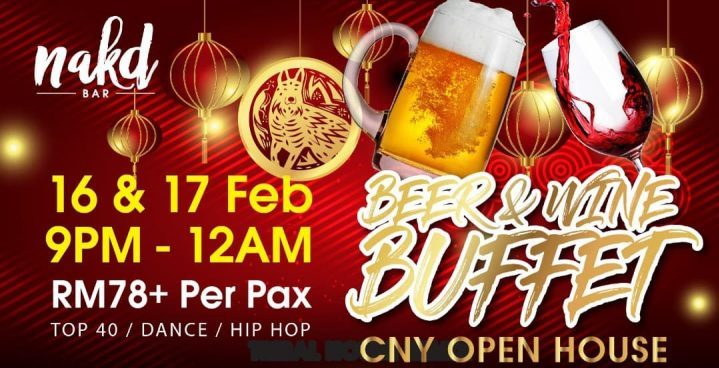 مطعم Nakd Bar CNY Open House