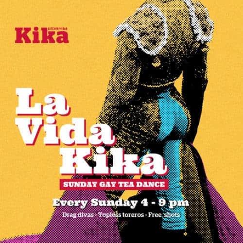 La Vida Kika –每周日同性恋茶舞蹈