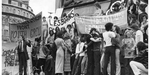 Gay Liberation Front UK Absolute Freiheit für alle Parteien - GLF 50th Birthday Party