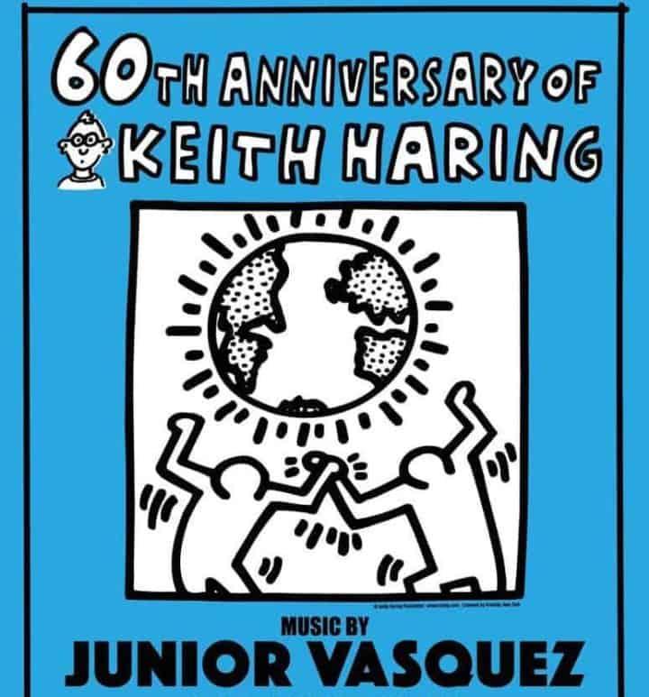 الذكرى 60 لإنجاز كيث هارينج. جونيور فاسكيز