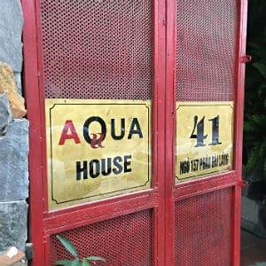 Aqua House - GESLOTEN