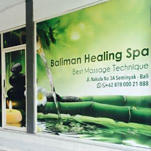 Spa de guérison Baliman