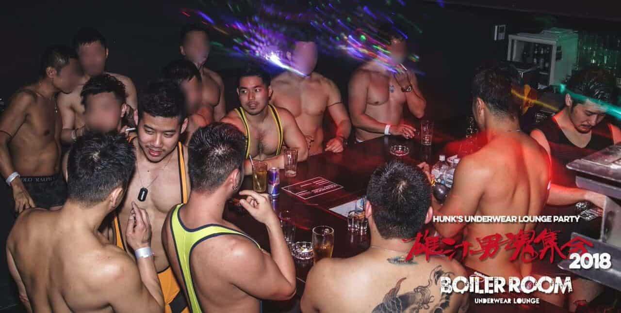 TravelGay πρόταση HUNKS Underwear Party @ Boiler Room