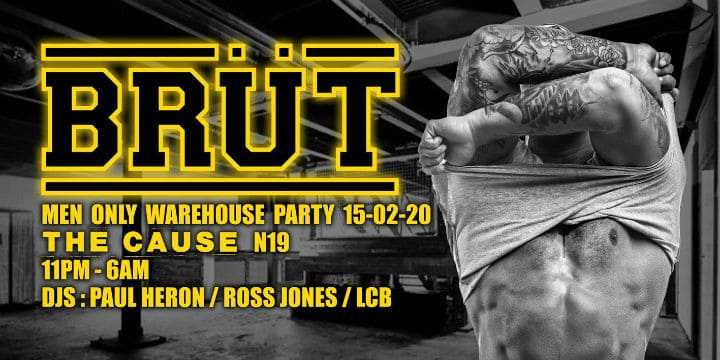 BRÜT Warehouse PARTY