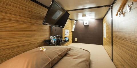 Capsule Hotel Anshin Oyado Shinjuku