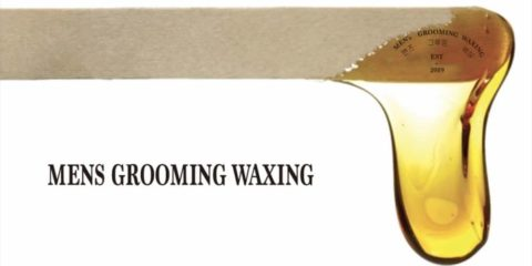 Men's grooming waxing