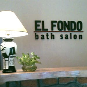 Bain et salon El Fondo