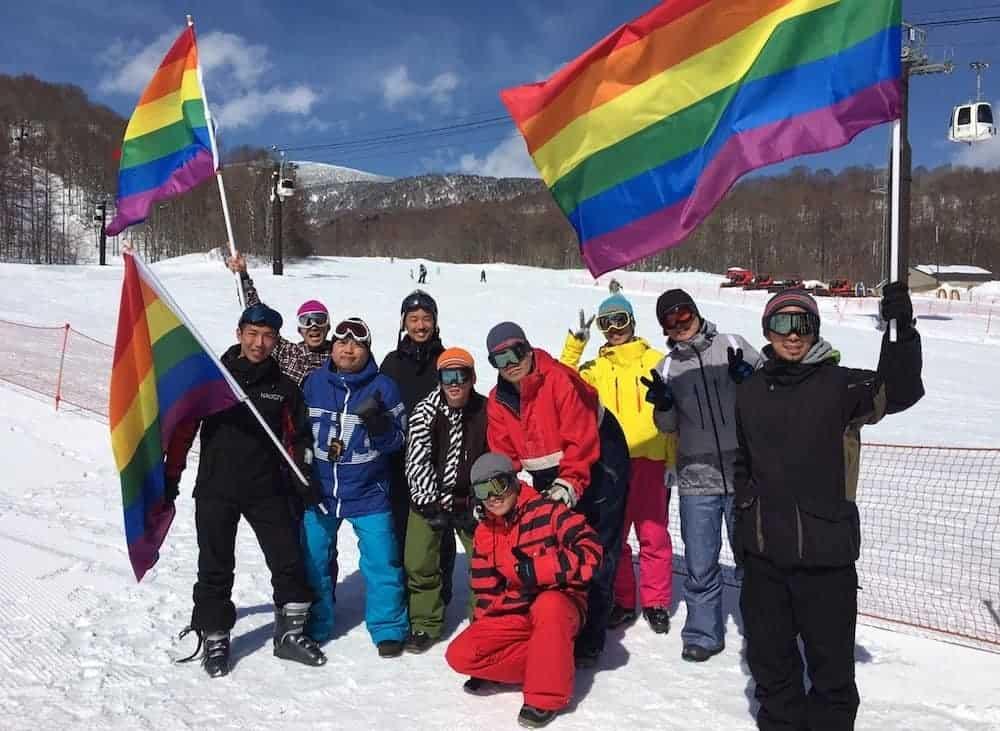 Week-end de ski arc-en-ciel à Urabandai