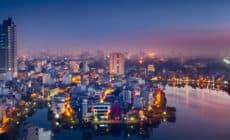 Hanoi in der Nacht