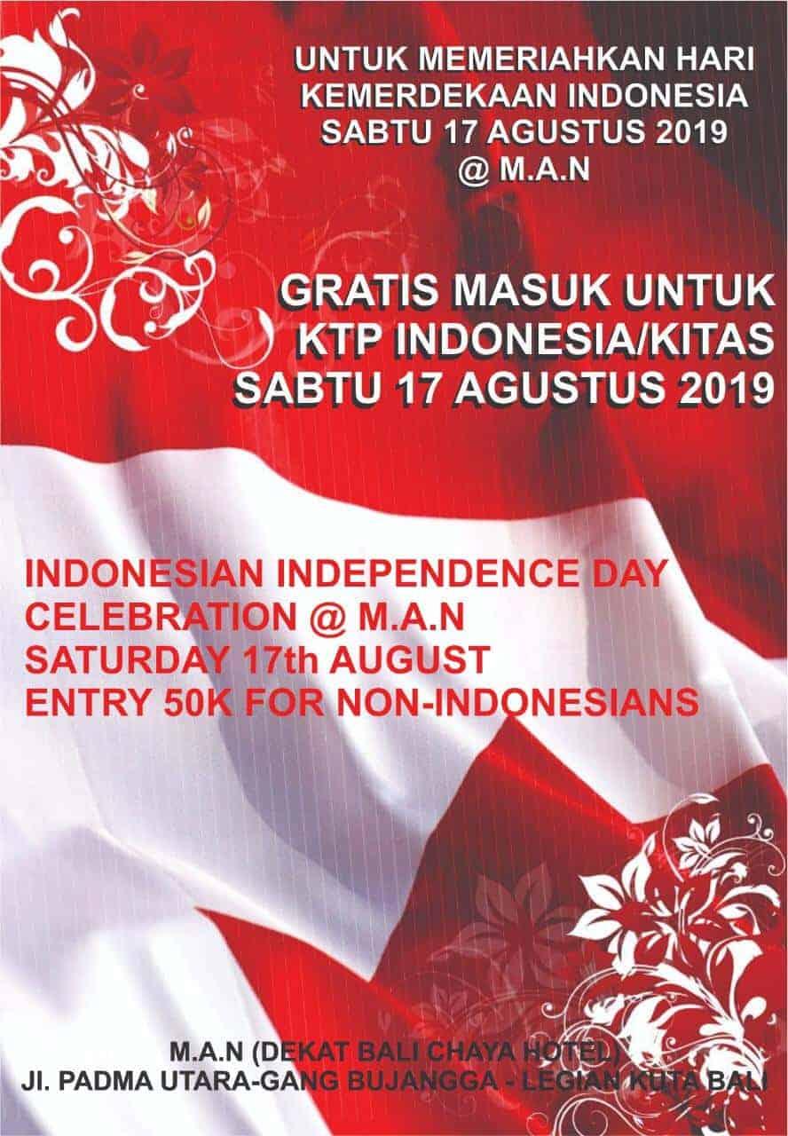 Indonesisk uafhængighedsdag fejring