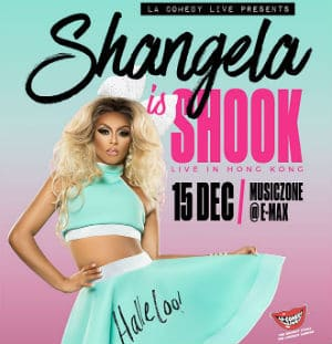 Shangela Is Shook Tour - عش في هونغ كونغ