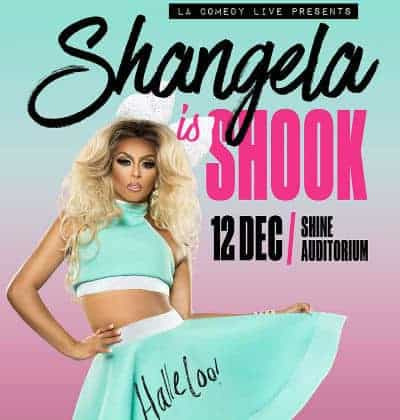Shangela Is Shook Tour - Live à Singapour