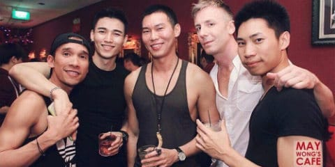 Singapore Gay Bars & Dance Clubs